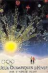 Эмблема плакат V зимние Олимпийские игры