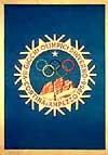 Эмблема плакат VII зимние Олимпийские игры