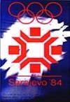 Эмблема плакат XIV зимние Олимпийские игры