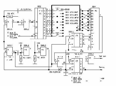 Кодовый замок курсовой проект 2693