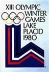 Эмблема плакат XIII зимние Олимпийские игры