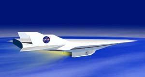 Рисунок полета X-43A