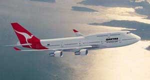 747-400X авиакомпании Quantas